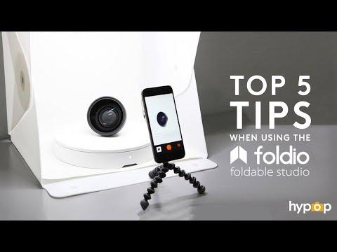 top-5-tips-when-using-the-foldio2-/-foldio3-portable-studio-light-tent