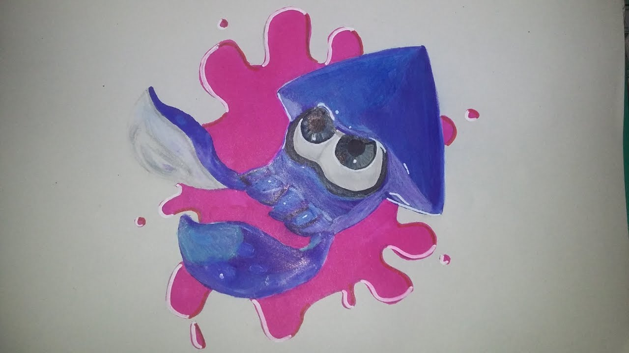Dessin Splatoon 2