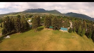 Parks of Ogden Valley, Utah quadrocopter aerial videography