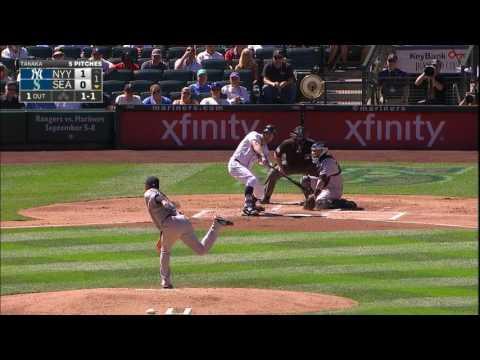 August 24, 2016-New York Yankees vs. Seattle Mariners