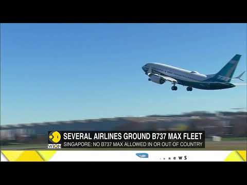 5 countries ground Boeing 737 Max jets