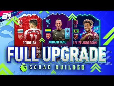 FULL UPGRADE PREMIER LEAGUE SQUAD BUILDER! | FIFA 19 ULTIMATE TEAM