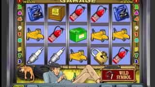 Игровые автоматы Гараж (линии и бонусная игра)