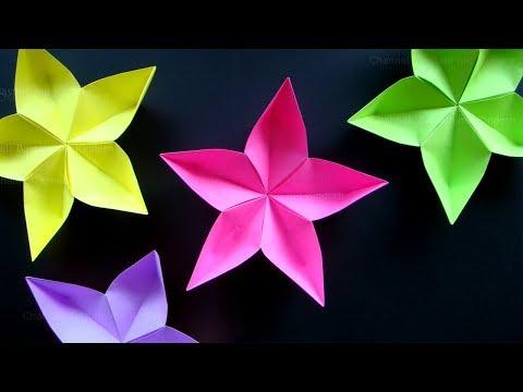 Basteln Mit Kindern Fruhling Origami Tulpen Falten