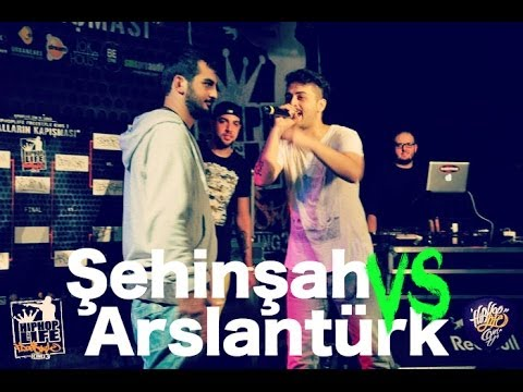 Arslantürk vs Şehinşah (Yarı Final) - Hiphoplife Freestyle King 3 (2012) #FK3