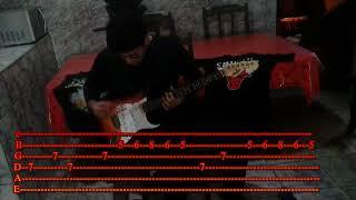 Fear of the dark - Guitar (Tab) by (Phelipe Alves)
