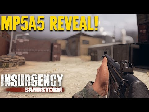 Introducing the MP5A5 - Insurgency: Sandstorm