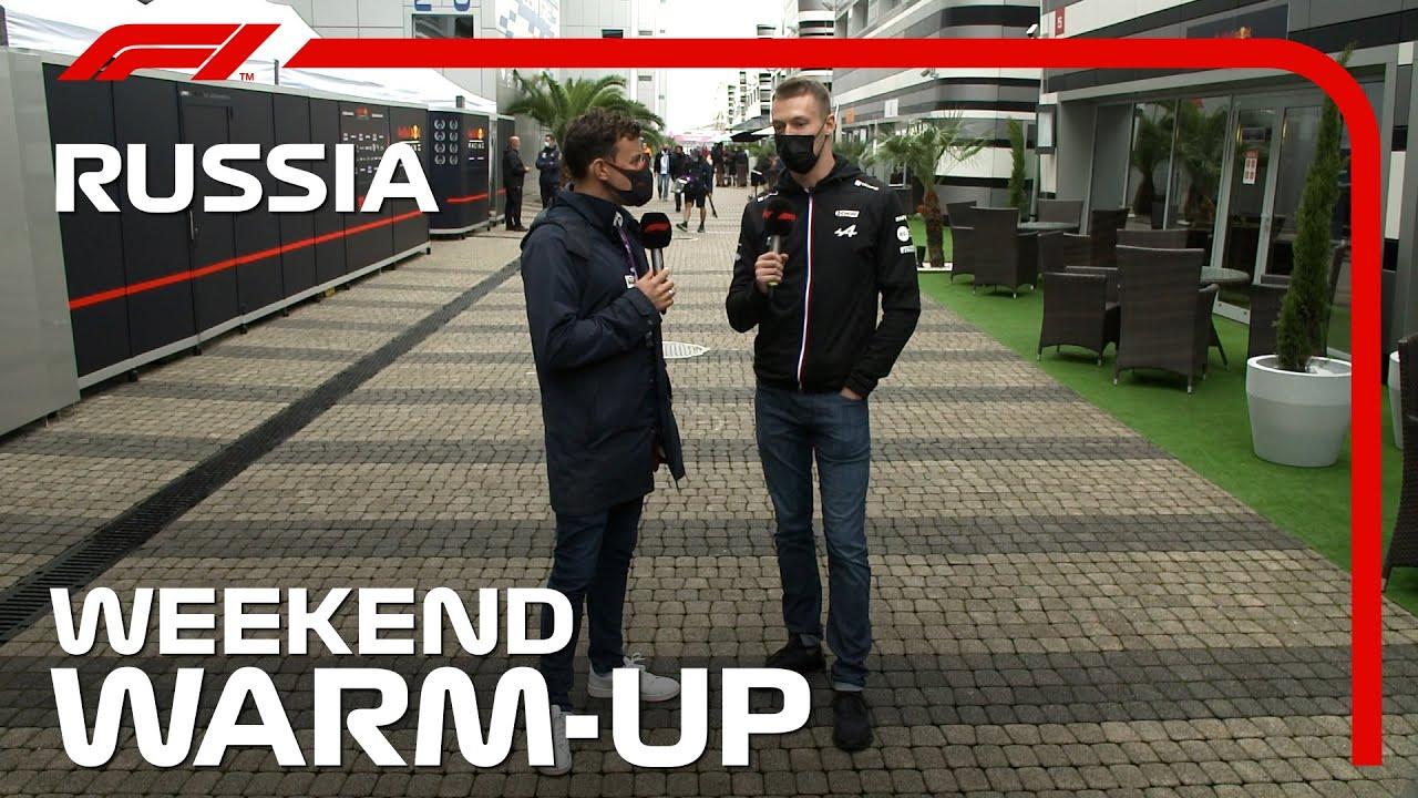 Download Weekend Warm-Up! | 2021 Russian Grand Prix