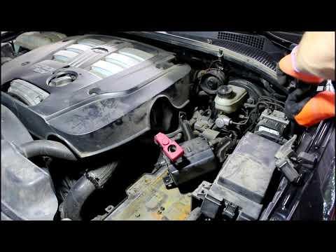 Замена главного цилиндра сцепления на Киа Соренто 2005  Kia Sorento 2,5 1часть