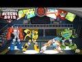 Transformers Rescue Bots: Hero 2.0 #7 | BUMBLEBEE, OPTIMUS PRIME, BLADES & BOULDER Team!