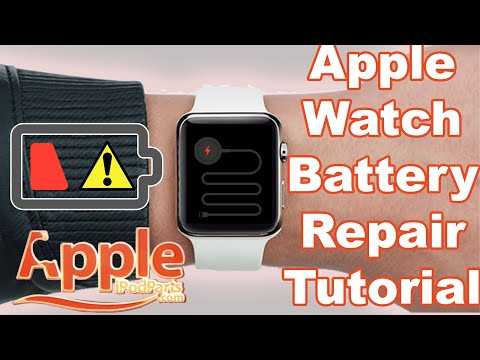How To Replace Apple Watch Series 1 Battery Guide Tutorial