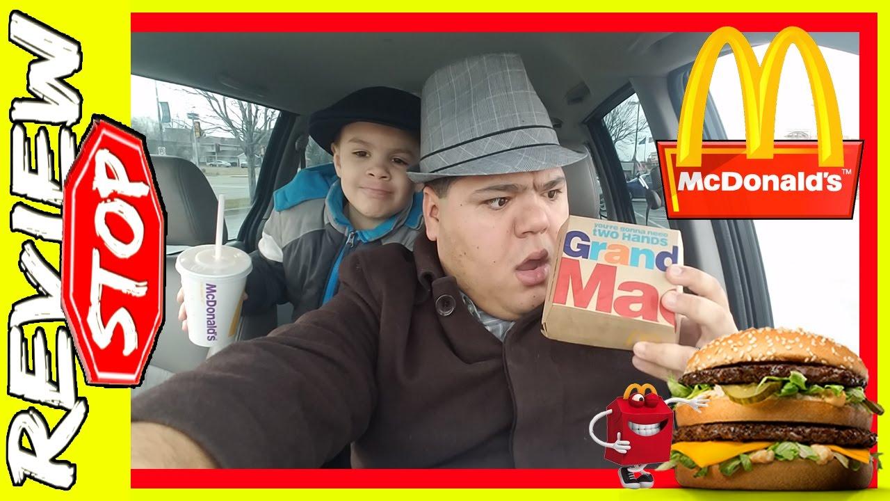 McDonalds Grand Mac Review - McD Grand Big Mac - #OMG ...