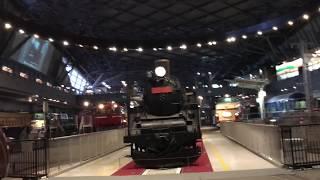 鉄道博物館オープン直後