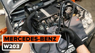 Entretien Mercedes X253 - guide vidéo