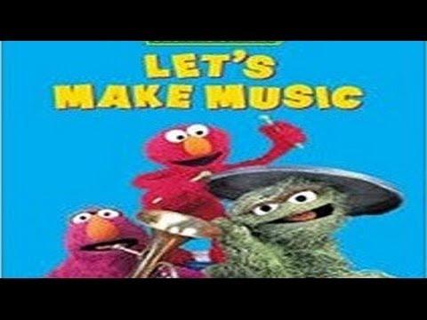 Sesame Street Lets Make Music P 1 👀