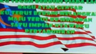 Cover song (karaoke version with lyrics) - Faizal Tahir - Satu Malaysia (raw record)