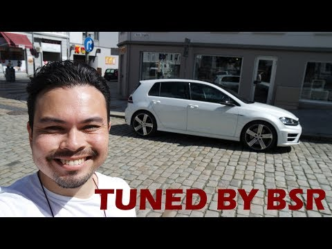 2017 Volkswagen Golf R Review (tuned by BSR)