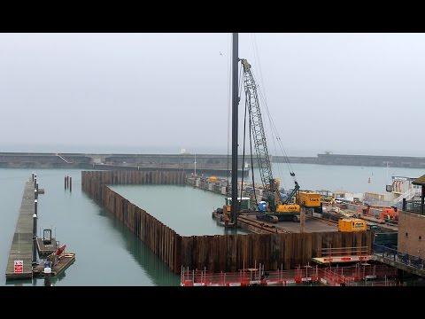Timelapse werkzaamheden Brighton Marina