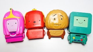 Learn Colors With Characters Cartoon Network Adventure Time