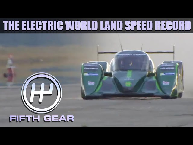 The Electric World Land Speed Record | Fifth Gear