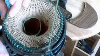 Crank Sock Machine Hung Heel from Start to Finish