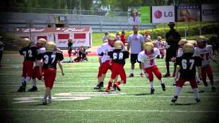 "AMAZING JONATHAN ""THUNDER"" BEDARD 8 YEAR OLD ""THE FUTURE RISING STAR"" FOOTBALL PLAYER HIGHLIGHT 2013"