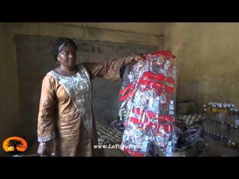 Une  fabrique de produits contrefaits découverte près du grand marché de Lomé.