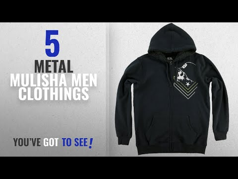 Top 10 Metal Mulisha Men Clothings [ Winter 2018 ]: Metal Mulisha Mens Scrap Hoody Zip Sweatshirt