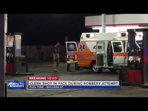 Gas station clerk shot in face on Bullard Street in Jackson, Mississippi 10112016