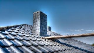 Jak wykończyć komin struktonitem? Obudowa komina S01E62 Jak wybudować dom?