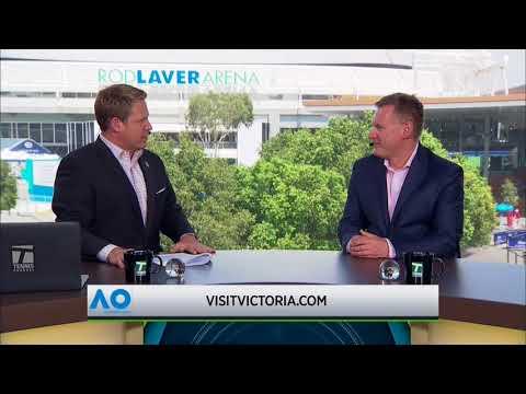 Tennis Channel interview with Damien de Bohun