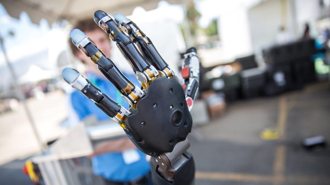 Realistic Robot Arm: Meet the Modular Prosthetic Limb! - YouTube