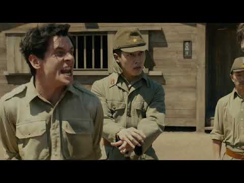 Unbroken(2014)  Movie Clip(2/5)  Zamperini Got Punched By Prisoners