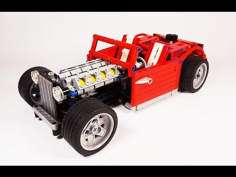 crowkillers custom lego technic chopped hot rod. Black Bedroom Furniture Sets. Home Design Ideas