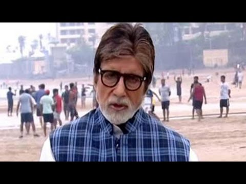 Amitabh Bachchan Sets The Agenda For 12-Hour Cleanathon