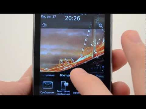 BlackBerry Torch 9800 - видеообзор ( torch 9800 ) от магазина Video-shoper.ru