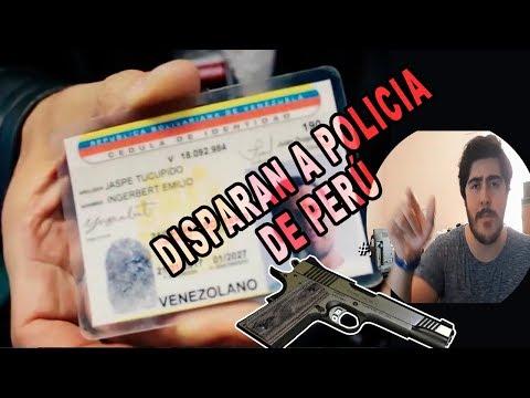 VENEZOLANOS ROBAN Y SON PERSEGUIDOS POR POLICÍA EN PERÚ | VENEZOLANOS EN PERÚ