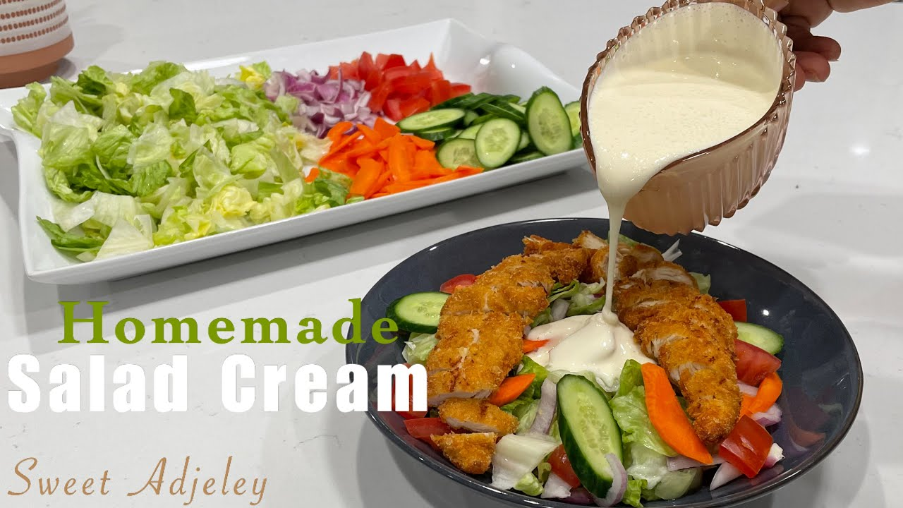 How To Make Salad Cream At Home | Hienz Style Salad Cream Recipe From Scratch