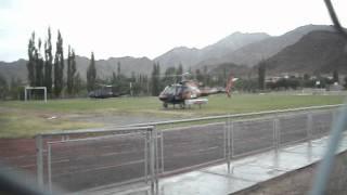 Eurocopter AS350 Ecureuil de la Organización del Dakar