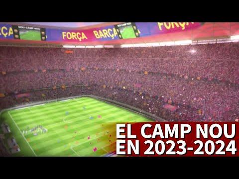 Así será el increíble Camp Nou en el 2023-2024