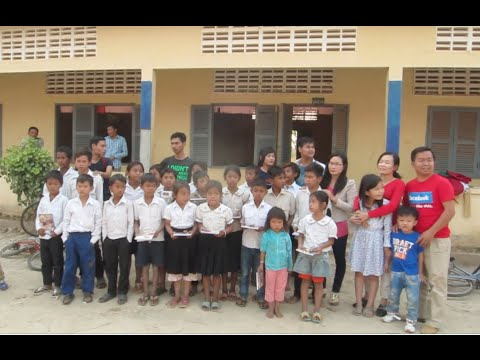 Primary School at Preah Vihea Province in Cambodia