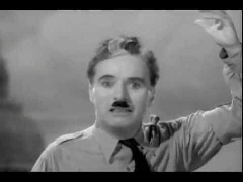 Charlie Chaplin's Speech - (Adagio In D Minor)