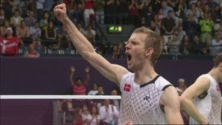 Korea v Denmark - Badminton Men