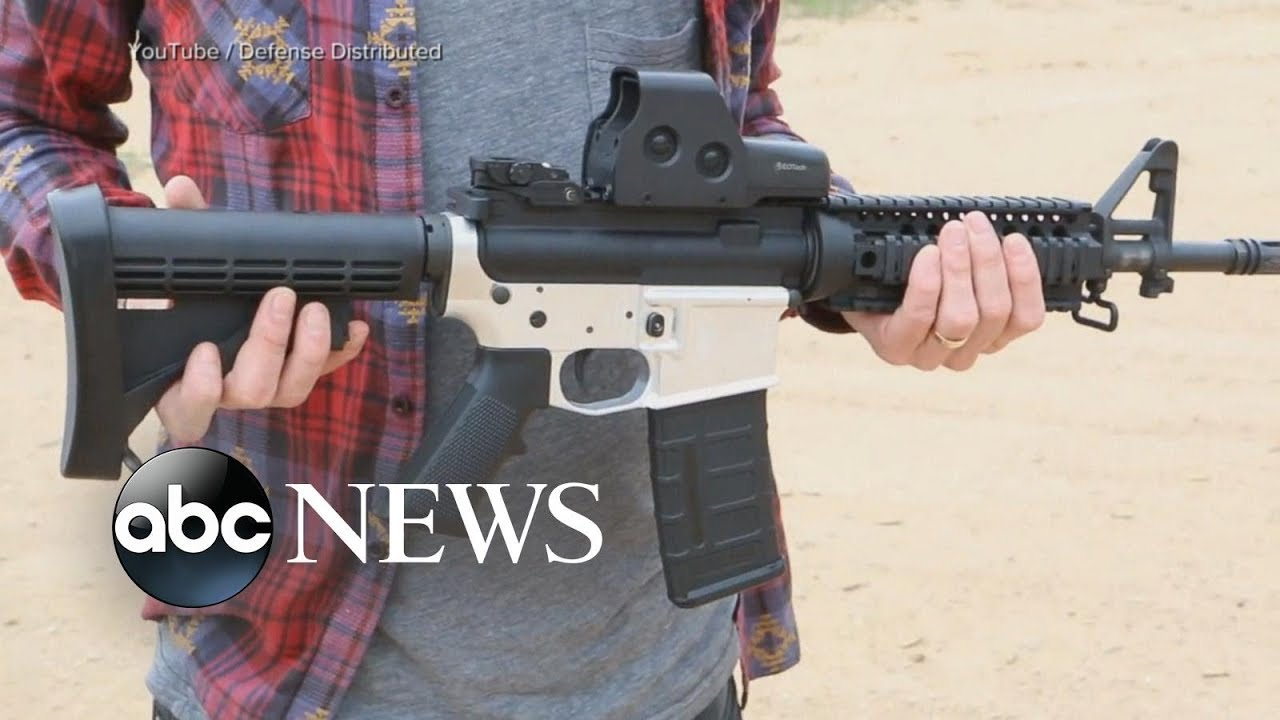 judge blocks release of plans for 3d printed guns youtube