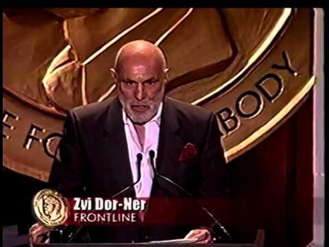 Zvi Dor-Ner - Shattered Dreams of Peace - 2002 Peabody Award Acceptance Speech