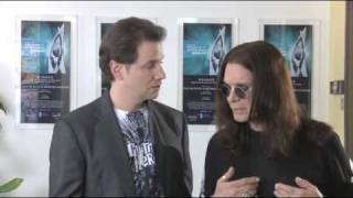 Jamie Kennedy and Ozzy Osbourne at Activision