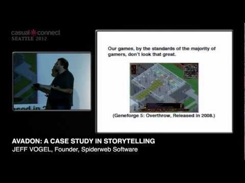 Avadon: A Case Study In Storytelling | Jeff VOGEL