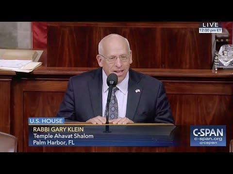 Palm Harbor Rabbi Delivers Opening Prayer Before U.S. House of Representatives