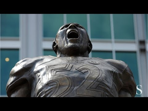 Extra security placed near Ray Lewis statue after petition urges its removal
