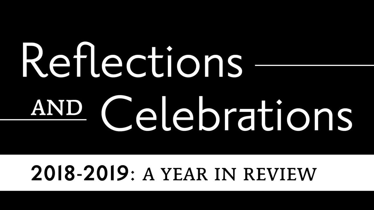 2020 Year In Review.Reflections And Celebrations 2019 2020 A Year In Review